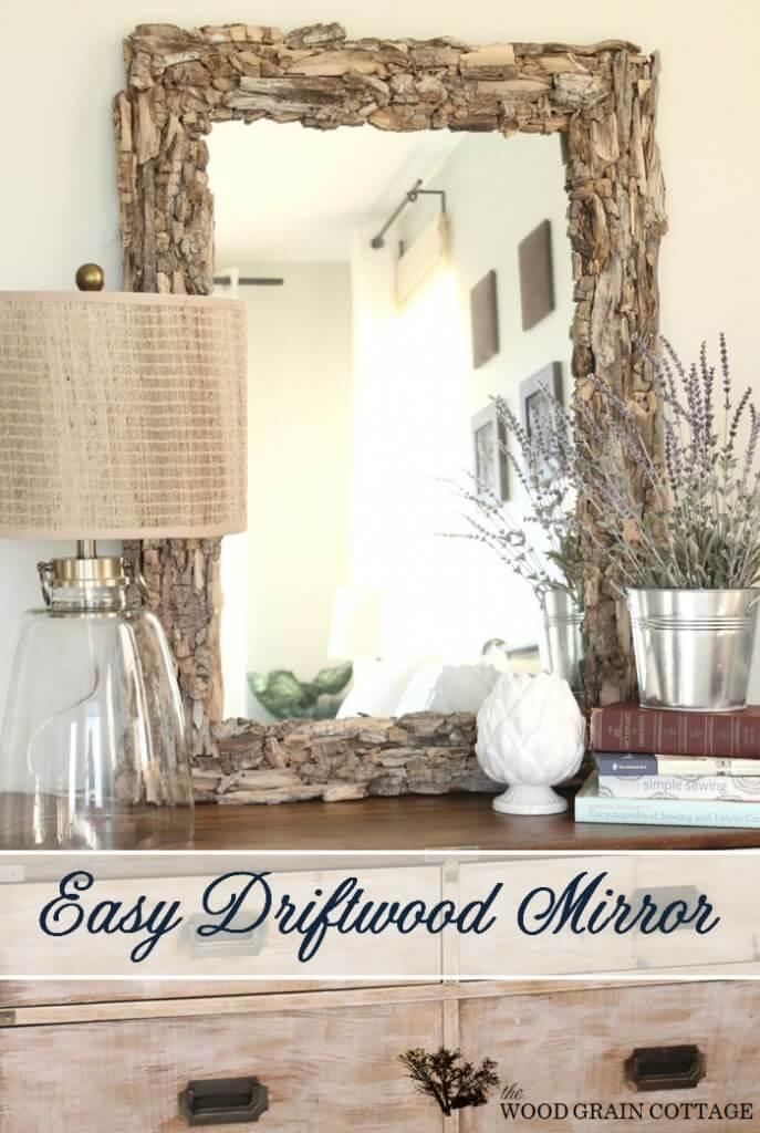 DIY DriftwoodMirror