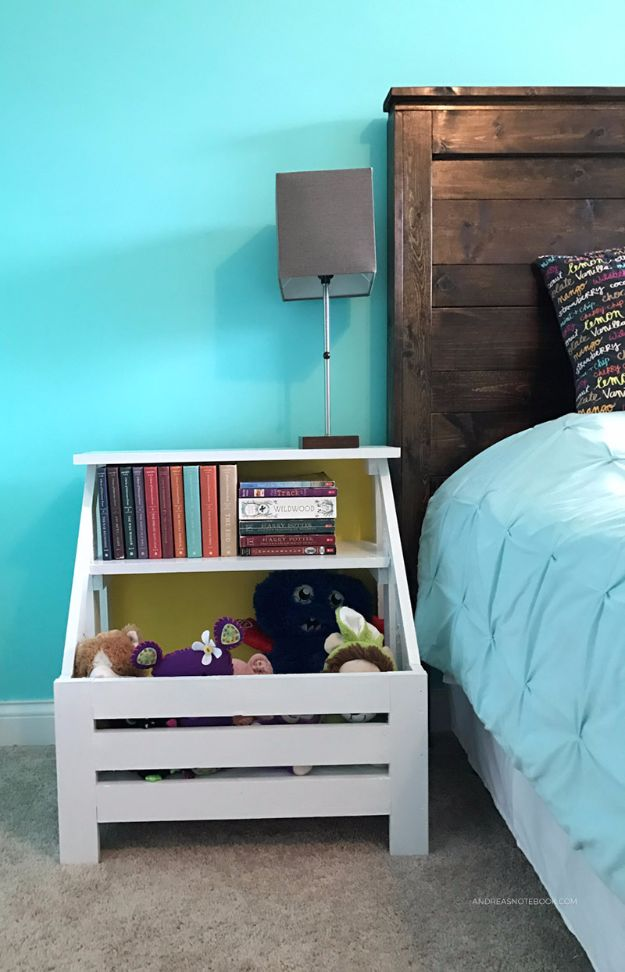 Build A Bookshelf Nightstand