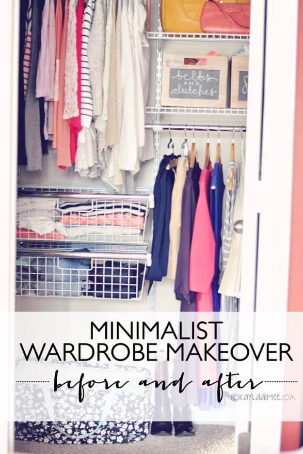 Minimalist Wardrobe Makeover