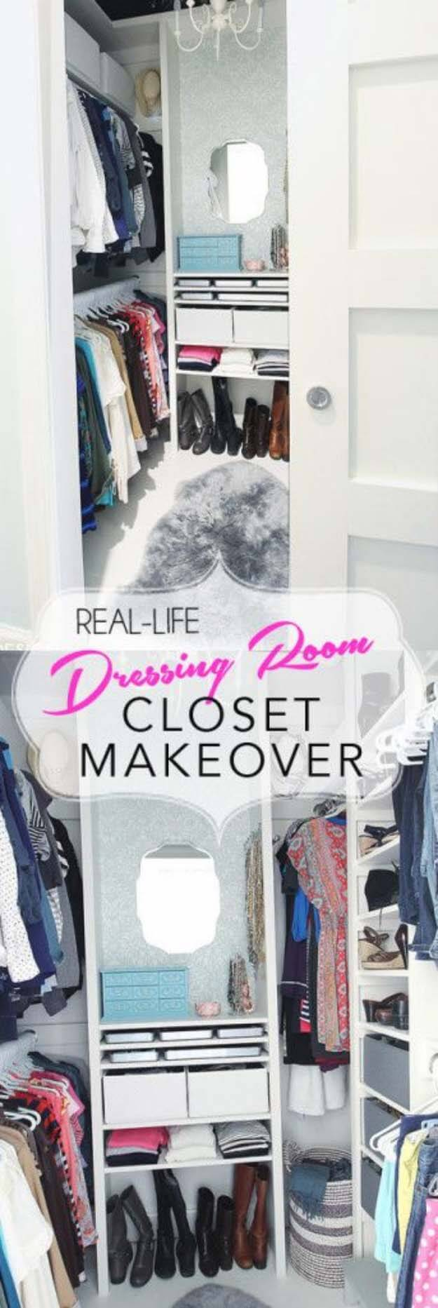From Cluttered Mess To Mini-Dressing Room