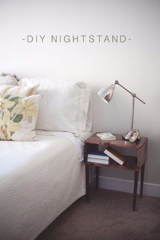 Diy Stylish Nightstand