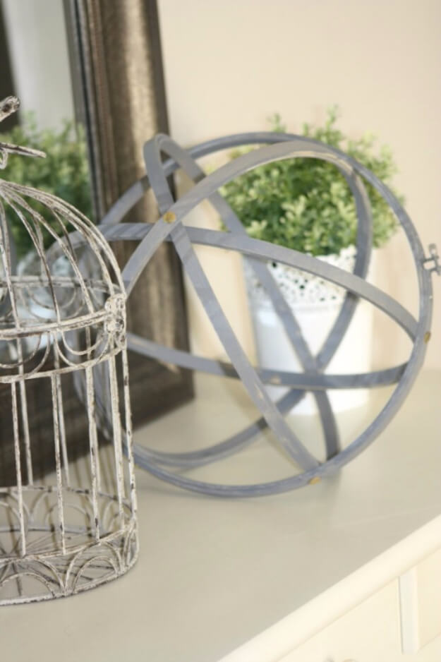 DIY Decorative Orb