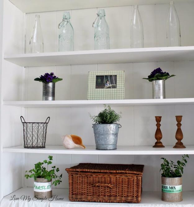 Farmhouse Style Shelves