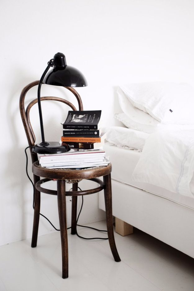Chair Nightstand