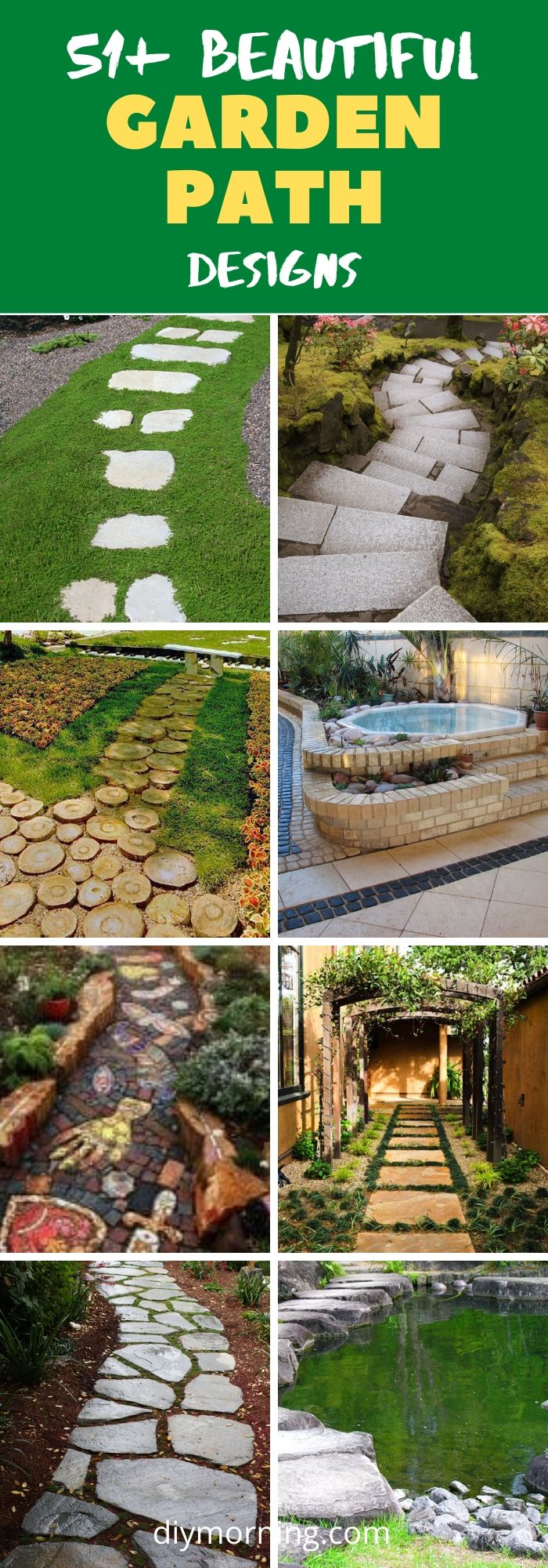46+ Easy & Cheap Garden Path Ideas For Your Beautiful Garden