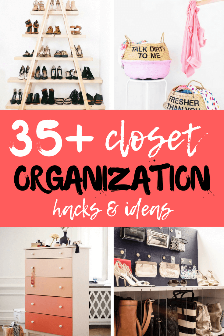 Checkout these DIY Closet Organization Ideas For Your Bedroom #diy #closet #organization #diymorning