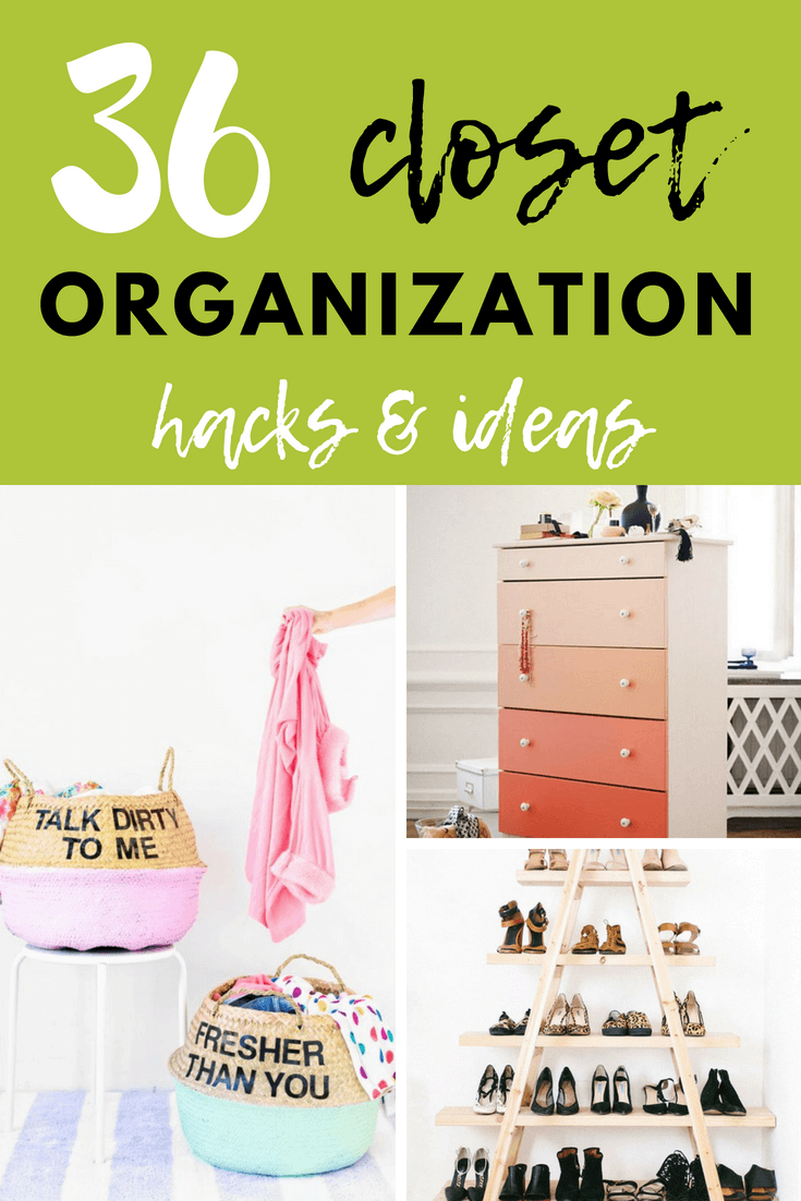 Looking to start your new year off with a resolution to be more organized? I vowed to do the same and decided to start with my closets, as they have been admittedly, quite frightening #diy #organization #closet #diymorning