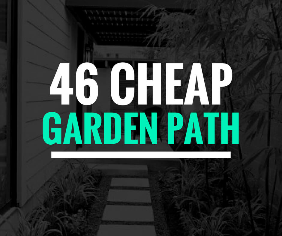 Cheap Garden Path Ideas