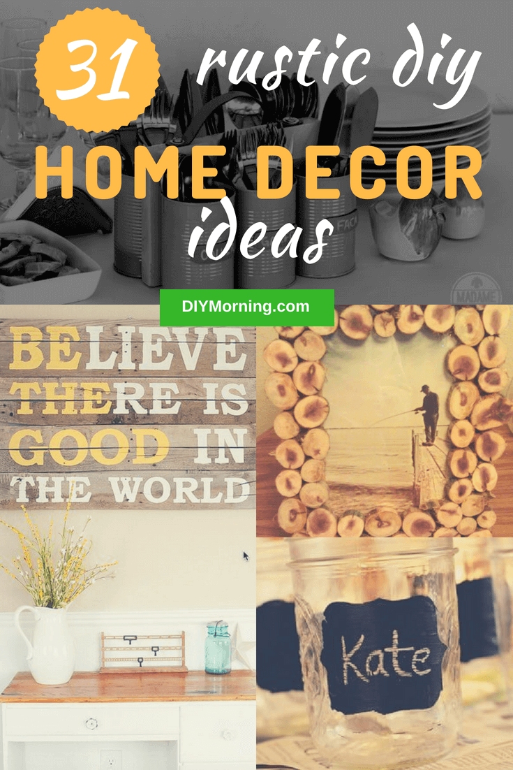 Vintage decor is warm, romantic and unique. Plus, country crafts and furnishings need not be terribly expensive, and if you follow our DIY tips, you should be able to decorate your whole house these creative rustic decor tutorials.