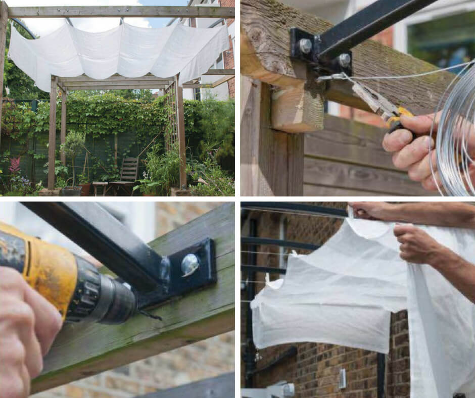 How To Make Diy Patio Canopy