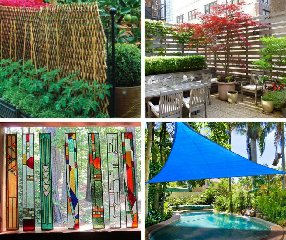 Outdoor Privacy Screen: How to create a garden privacy