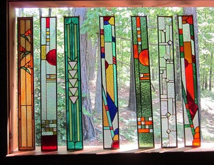 Stained Glass Panels Diy Stained Glass Window