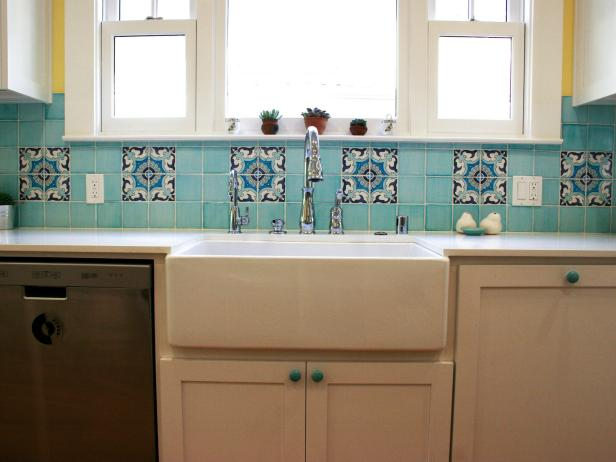 Mosaic Tile Backsplash | Creating a Ceramic Tile Mosaic for a Kitchen Backsplash