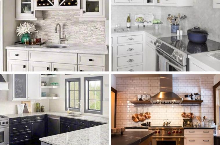 Backsplash Tile Designs in the Modern Kitchen: Contemporary Wall Tile for the Kitchen Backsplash