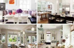 Creating a Kitchen Breakfast Nook: Eat-in Kitchen Design Ideas