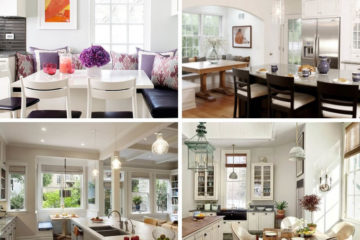 Creating a Kitchen Breakfast Nook: Eat-in Kitchen Design Ideas