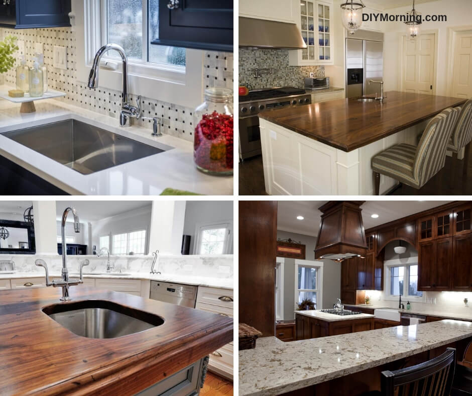 Stupendous Kitchen Countertop Options Selecting Durable Countertop Complete Home Design Collection Lindsey Bellcom