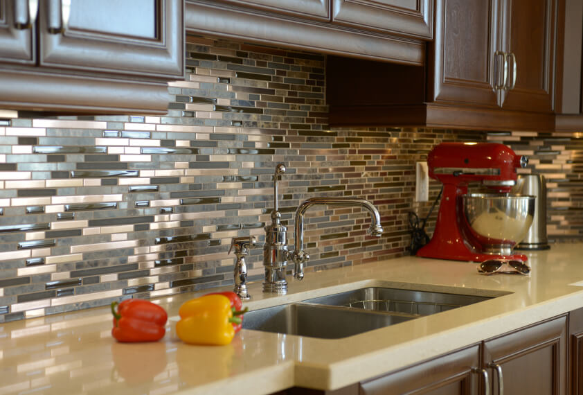 Designing a Ceramic Mosaic Mural | Creating a Ceramic Tile Mosaic for a Kitchen Backsplash