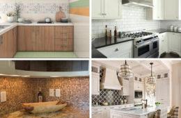 Unique Kitchen Tile Designs: Experiment with Size, Color, and Patterns