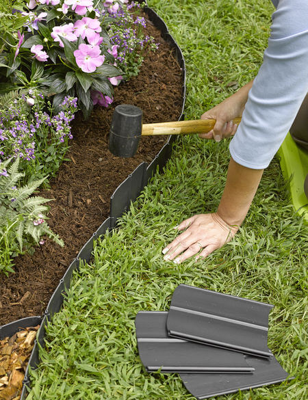 Plastic Edging | Garden Edging Ideas | DIYMorning.com