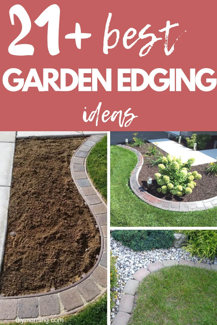 21 Brilliant Cheap Garden Edging Ideas With Pictures For 2021
