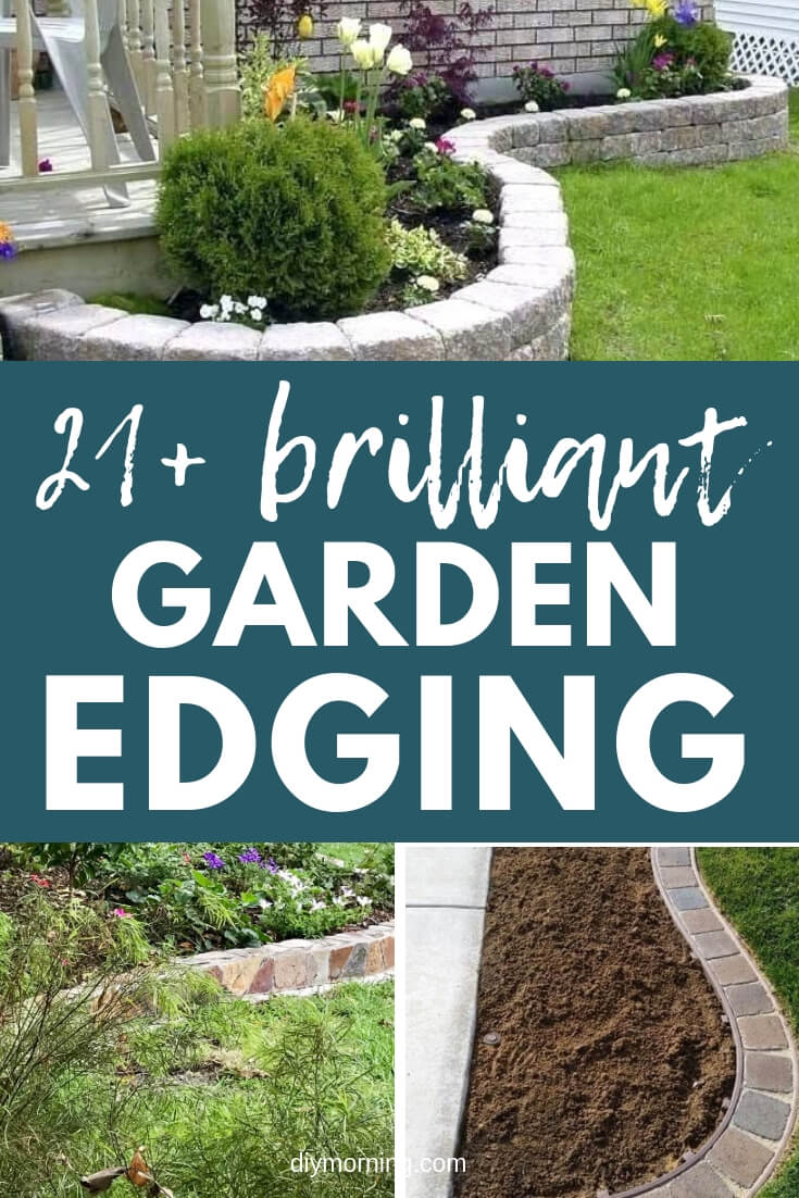21+ Brilliant & Cheap Garden Edging Ideas With Pictures For 2021
