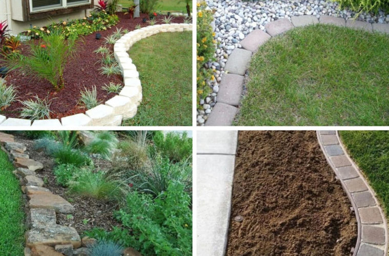 Brilliant Garden Edging Ideas