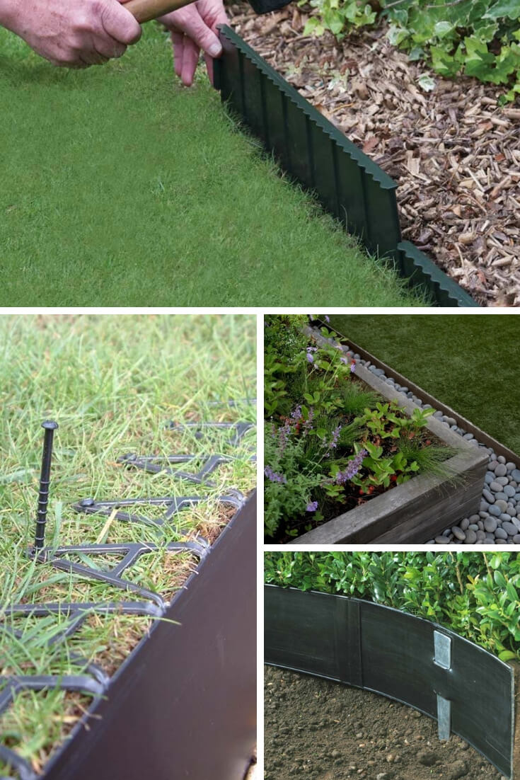 Plastic and Metal Edging | Garden Edging Ideas | DIYMorning.com