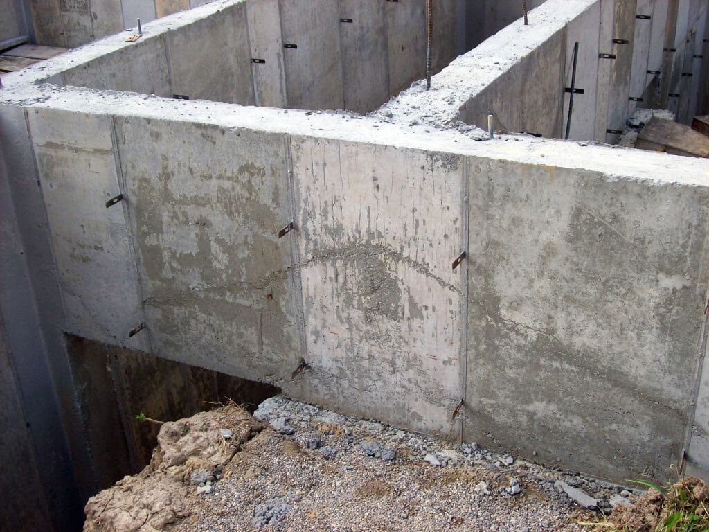 Poured Concrete