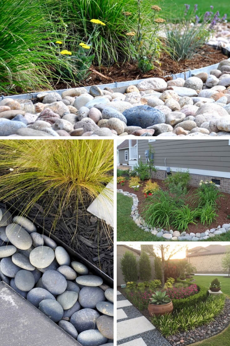 Rock Edging | Garden Edging Ideas | DIYMorning.com