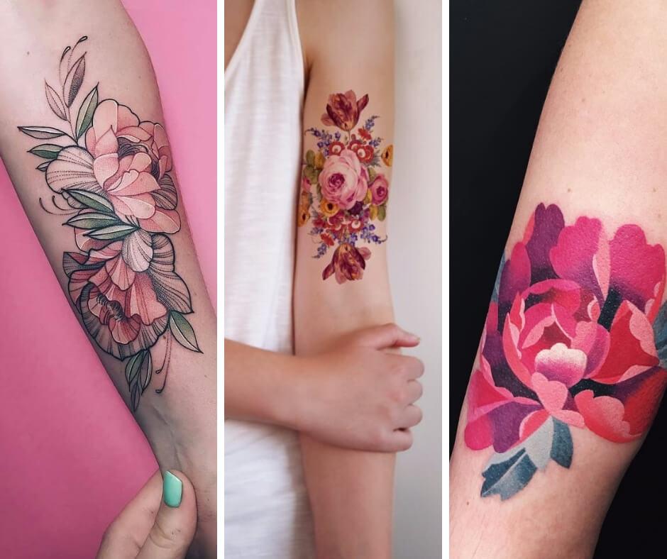 25 Flower Tattoos to Make Your Skin a Living Garden