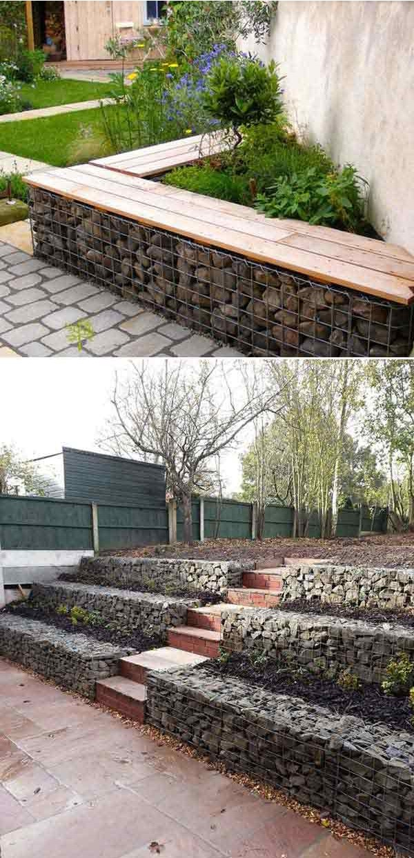 18 Beautiful Diy Retaining Wall Ideas Designs For 2019