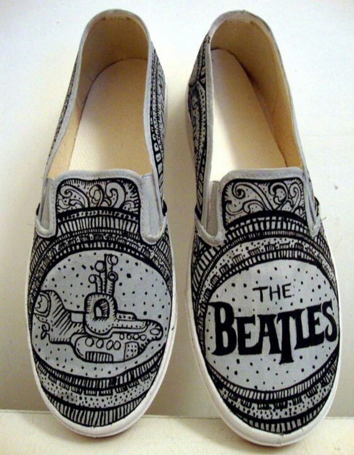 Tennis with The Beatles design