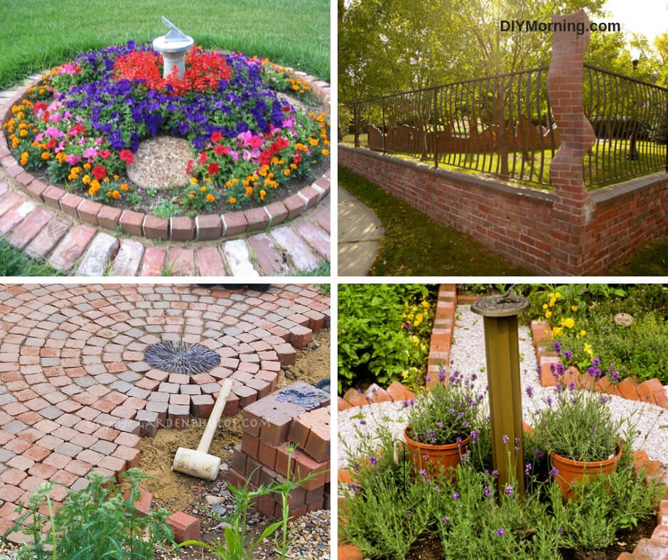 21+ Beautiful Brick Landscaping Ideas