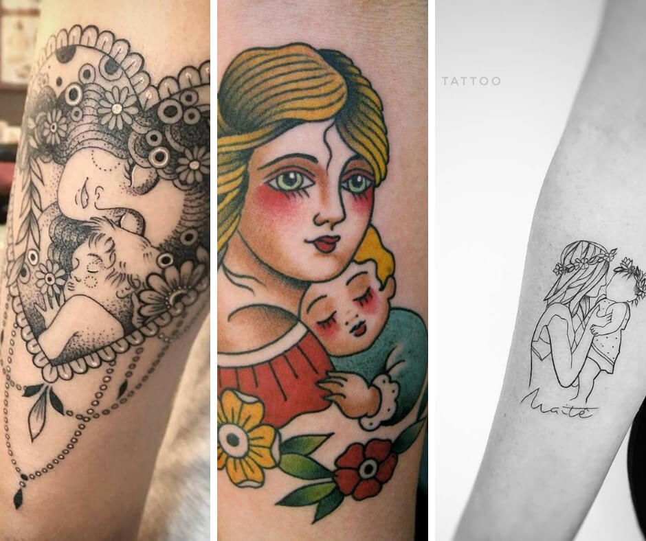 24 Cute Tattoos To Show The Unconditional Love Of Mom