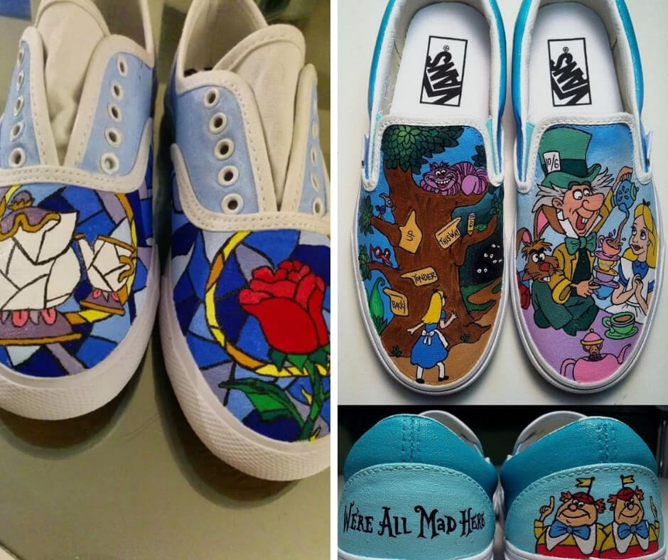 24 DIY projects to convert your white tennis shoes into personalized works of art