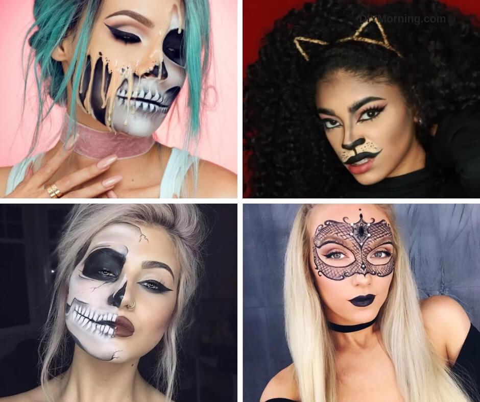 20 Fun Make-up Ideas Will Make You Look Beautiful on Halloween