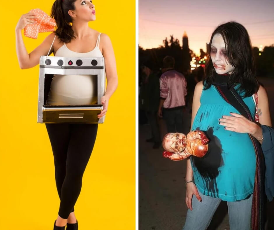 25 creative costumes that pregnant women should wear on Halloween