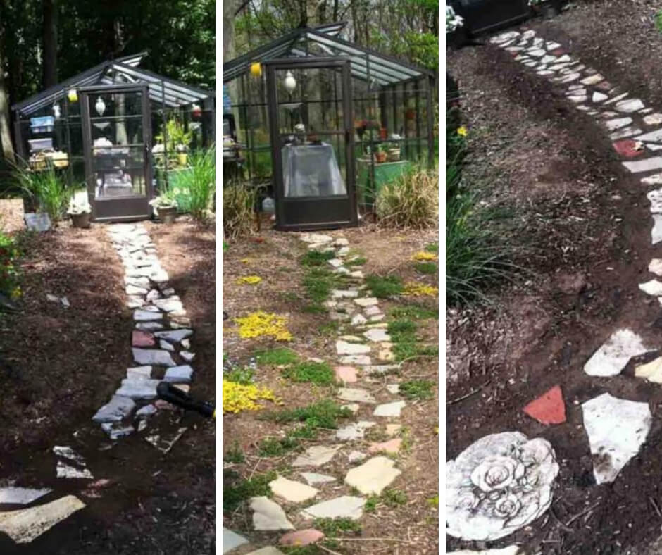 How to Install a Rustic Stone Path in a Cottage Garden