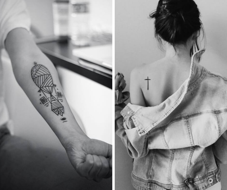 minimalist tattoos for women