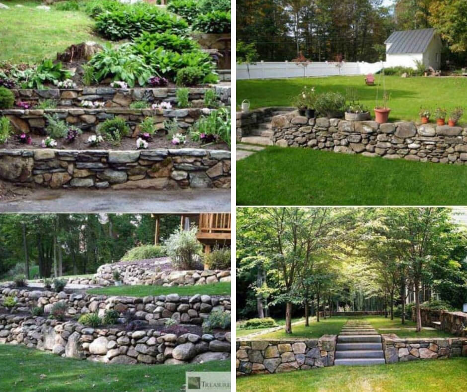 18 Beautiful Diy Retaining Wall Ideas Designs For 2020