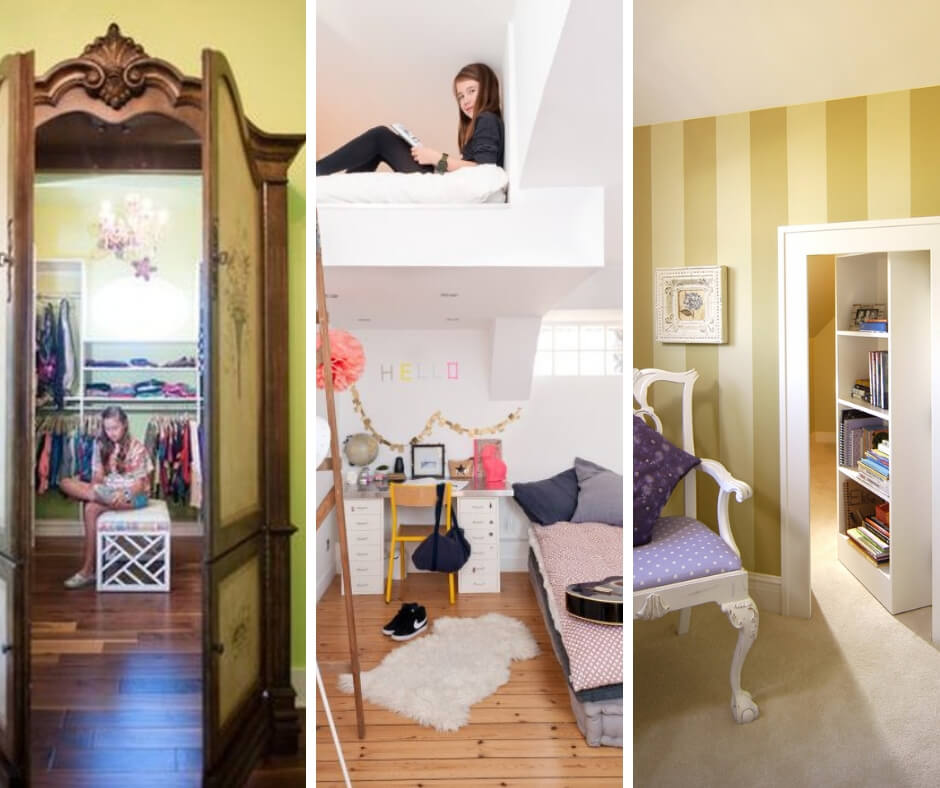 15 Room Designs that Will Make You Want To Have a Secret Passage Too