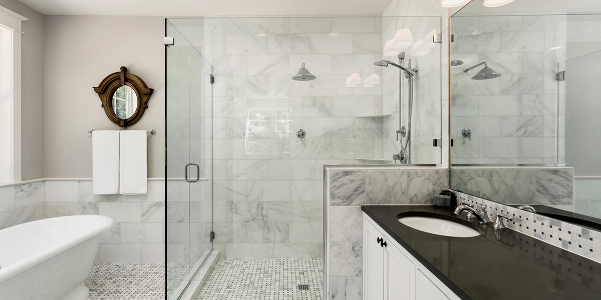Best Way to Replace a Glass Shower Doors with Bathtub
