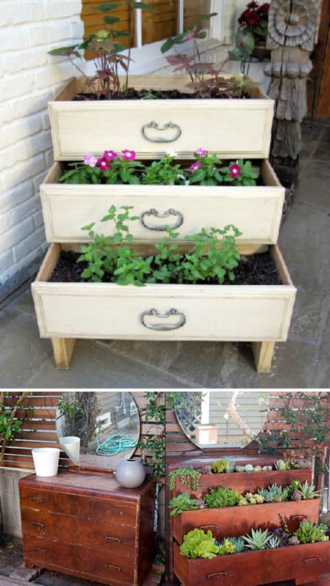 17+ Clever & Cheap DIY Garden Ideas: Easy and Out of the Box