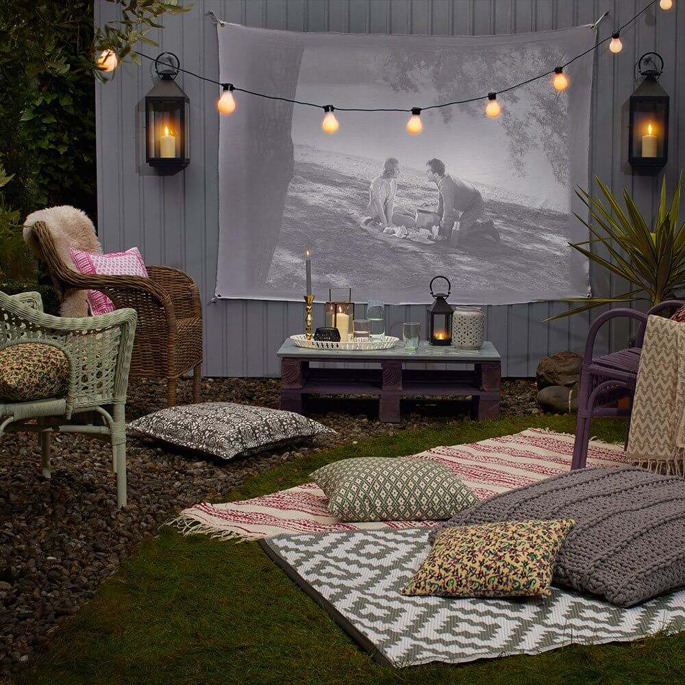 Home Theater Design Ideas Diy: 30+ Awesome Fun DIY Backyard Projects This Summer (Kid