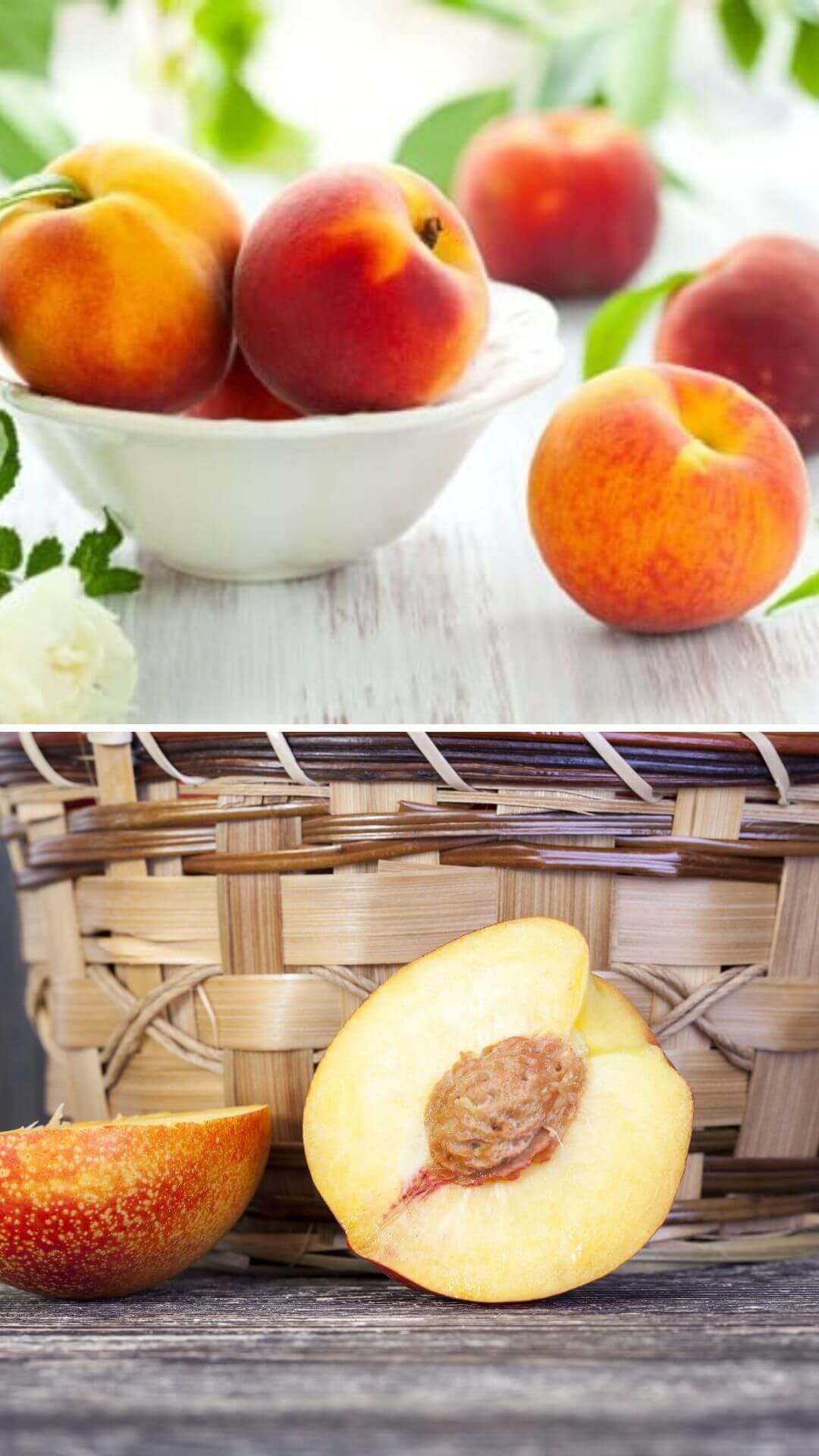 How to grow peaches from kitchen scraps