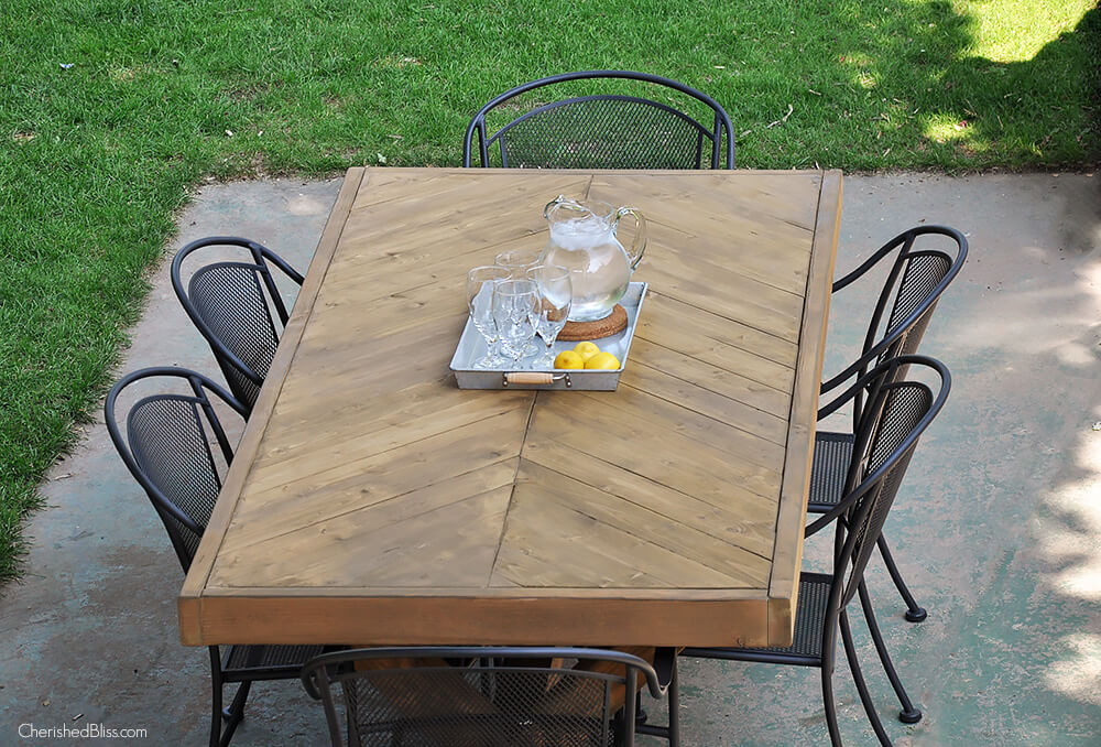 25 brilliant diy outdoor dining table ideas and projects