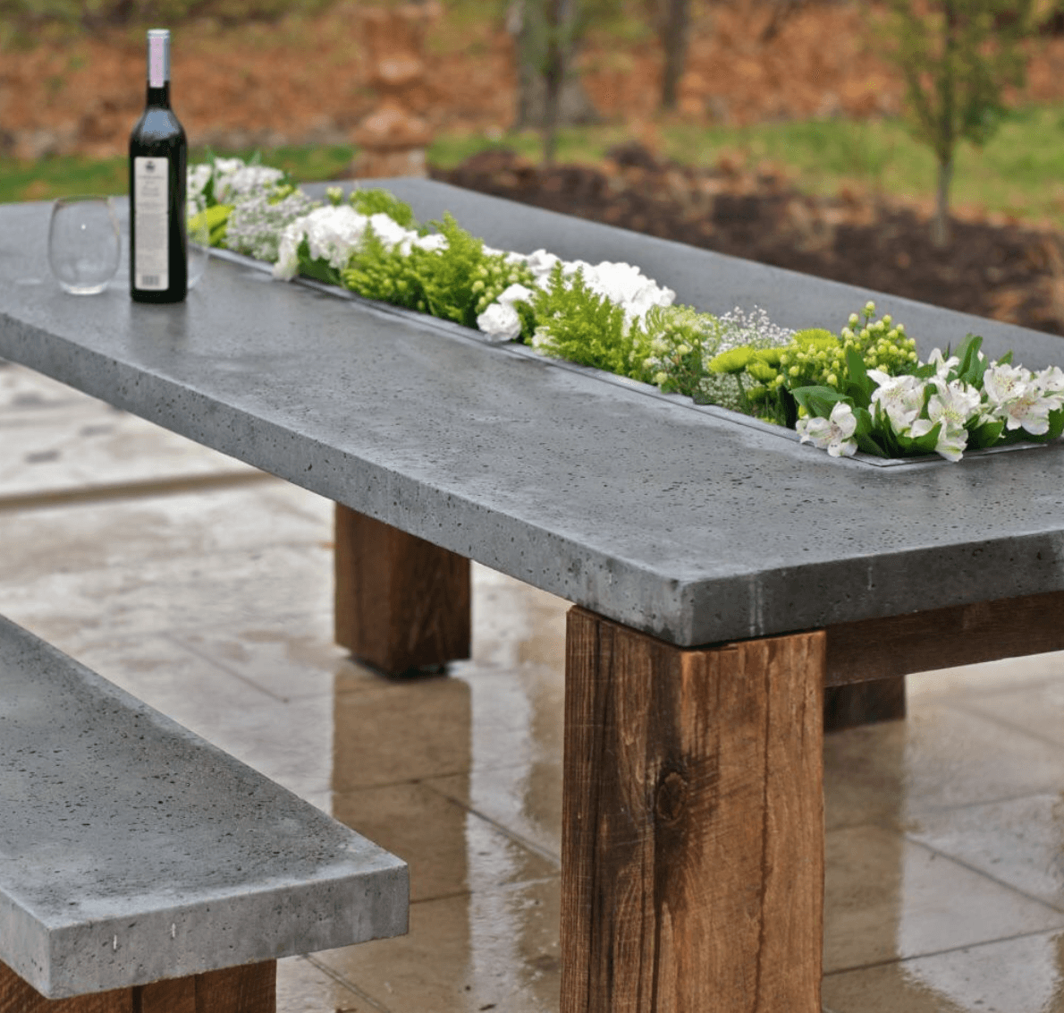 25+ Brilliant DIY Outdoor Dining Table Ideas and Projects ...