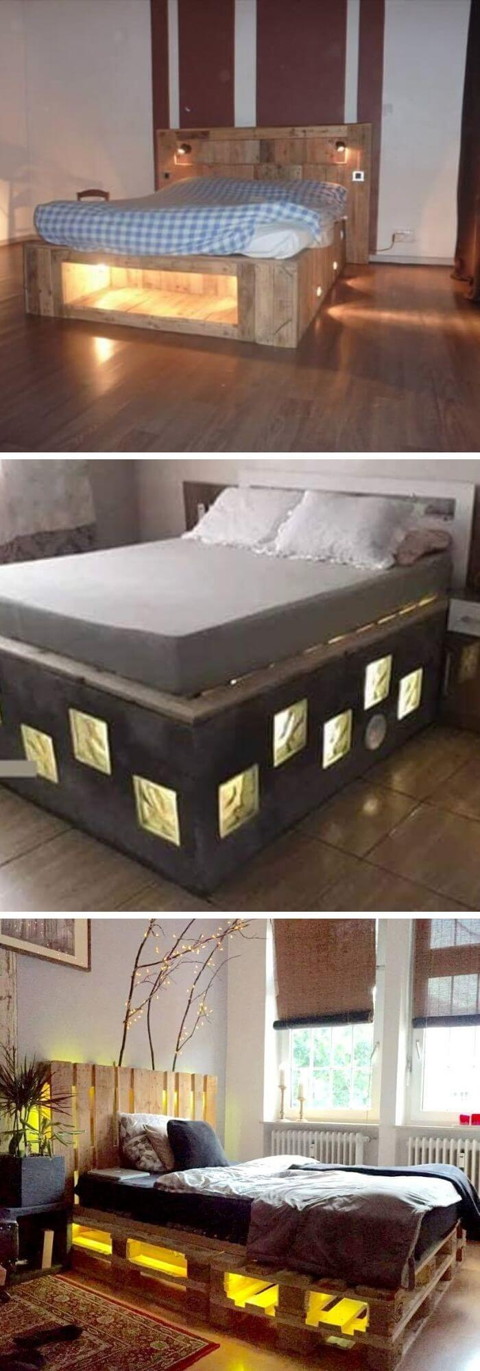 23 Clever Diy Bed Frame Ideas And Projects You Can Do In A Weekend