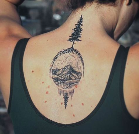 Hiking tattoos for women